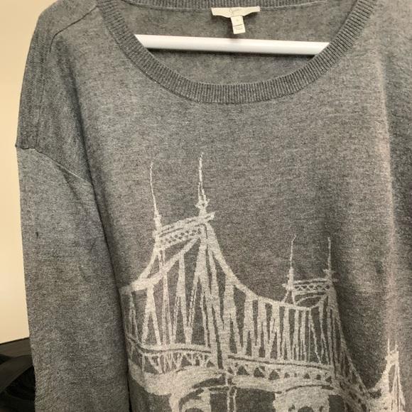 Joie Sweaters - Women's long sleeve thin sweater joie.